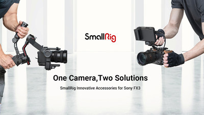 SmallRig Releases Innovative Accessories for Sony FX3