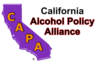 California Alcohol Policy Alliance (CAPA) AlcoholPolicyAlliance.org