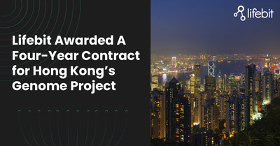 Lifebit Awarded A Four-Year Contract for Hong Kong's Genome Project