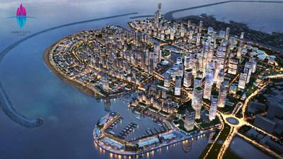 Port City Colombo a multi-services Special Economic Zone in Sri Lanka.