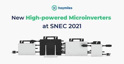 Nuevos microinversores de alta potencia en el SNEC 2021