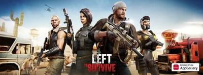 Left to Survive (PRNewsfoto/AppGallery)