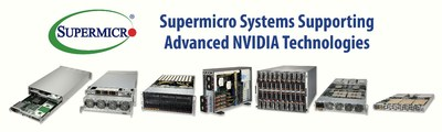 Supermicro Systems Supporting Advanced NVIDIA Technologies