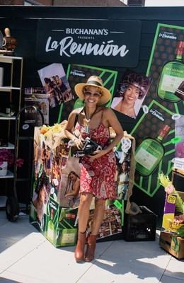 Local Photographer Laura Ciriaco at the Bodega Photo Opp at La Reunión NYC Presented By Buchanan's Whisky